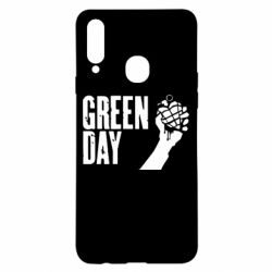"Чохол для Samsung A20s Green Day "" American Idiot"