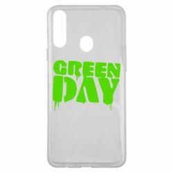 Чехол для Samsung A20s Green Day