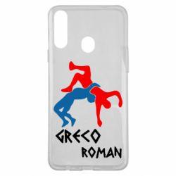 Чохол для Samsung A20s Греко-римська боротьба
