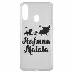 Чохол для Samsung A20s Hakuna Matata