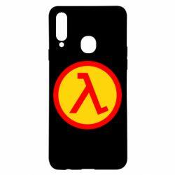 Чехол для Samsung A20s Half Life Logo