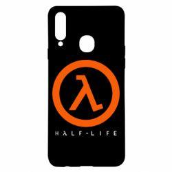 Чехол для Samsung A20s Half-life logotype