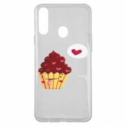 Чохол для Samsung A20s Happy cupcake