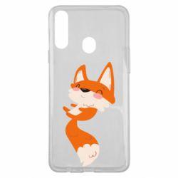 Чехол для Samsung A20s Happy fox