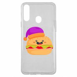 Чехол для Samsung A20s Happy hamburger
