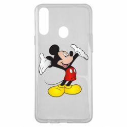 Чохол для Samsung A20s Happy Mickey Mouse