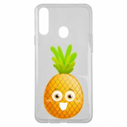 Чехол для Samsung A20s Happy pineapple