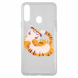 Чохол для Samsung A20s Happy tiger