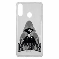 Чехол для Samsung A20s Heart of Champions