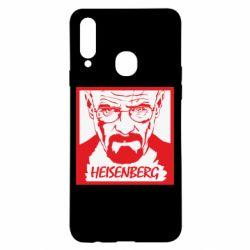 Чохол для Samsung A20s Heisenberg face