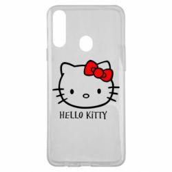 Чехол для Samsung A20s Hello Kitty