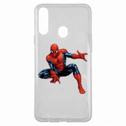 Чехол для Samsung A20s Hero Spiderman