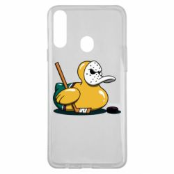 Чохол для Samsung A20s Hockey duck