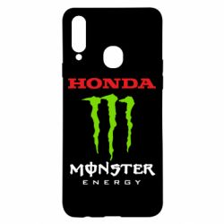 Чехол для Samsung A20s Honda Monster Energy
