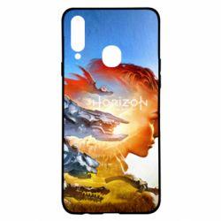 Чехол для Samsung A20s Horizon Zero Dawn art