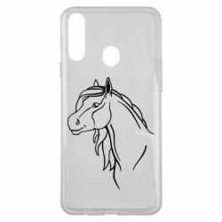 Чехол для Samsung A20s Horse contour
