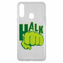 Чехол для Samsung A20s Hulk fist