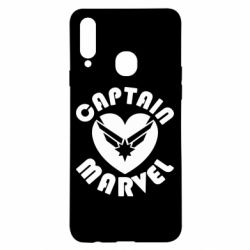 Чохол для Samsung A20s I love Captain Marvel