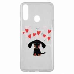 Чохол для Samsung A20s I love dachshund