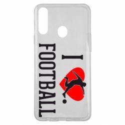 Чохол для Samsung A20s I love football