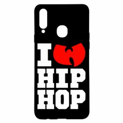 Чехол для Samsung A20s I love Hip-hop Wu-Tang