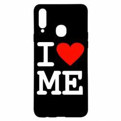 Чехол для Samsung A20s I love ME
