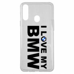 Чохол для Samsung A20s I love my BMW