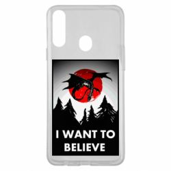 Чехол для Samsung A20s I want to BELIEVE poster