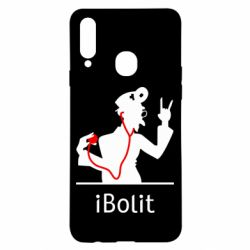 Чехол для Samsung A20s iBolit