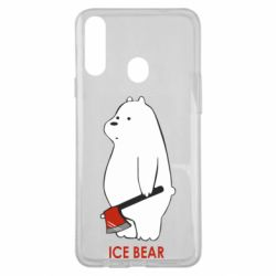 Чохол для Samsung A20s Ice bear