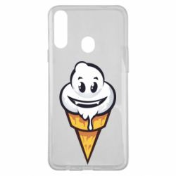 Чохол для Samsung A20s Ice cream graffiti
