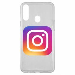 Чохол для Samsung A20s Instagram Logo Gradient