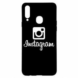 Чехол для Samsung A20s Instagram