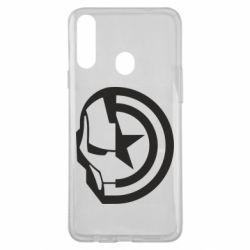 Чохол для Samsung A20s Iron Man and Captain America