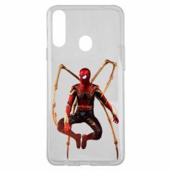 Чохол для Samsung A20s Iron man spider