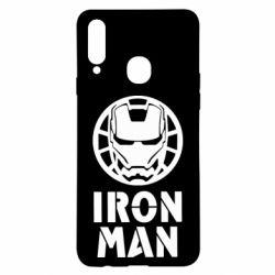 Чохол для Samsung A20s Iron man text