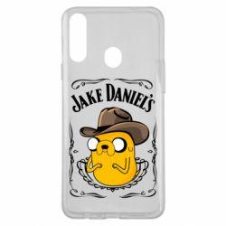 Чохол для Samsung A20s Jack Daniels Adventure Time