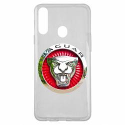 Чехол для Samsung A20s Jaguar emblem