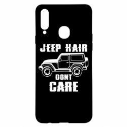 Чохол для Samsung A20s Jeep hair don't care