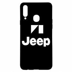 Чехол для Samsung A20s Jeep Logo