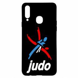 Чохол для Samsung A20s Judo Logo
