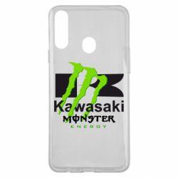 Чохол для Samsung A20s Kawasaki Monster Energy