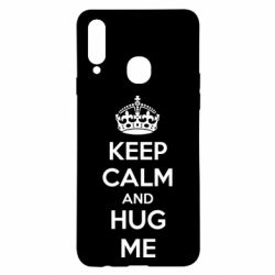 Чохол для Samsung A20s KEEP CALM and HUG ME