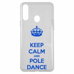 Чохол для Samsung A20s KEEP CALM and pole dance