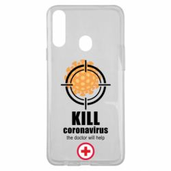 Чехол для Samsung A20s Kill coronavirus the doctor will help