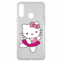 Чехол для Samsung A20s Kitty балярина