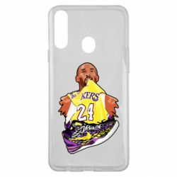 Чехол для Samsung A20s Kobe Bryant and sneakers