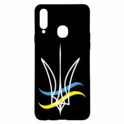 Чохол для Samsung A20s Кумедний герб України
