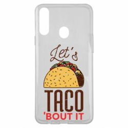 Чехол для Samsung A20s Let's taco bout it