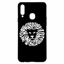 Чохол для Samsung A20s лев